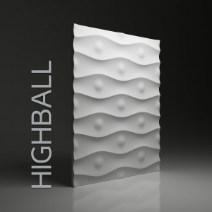 Panel 3D -  Dunes Highball